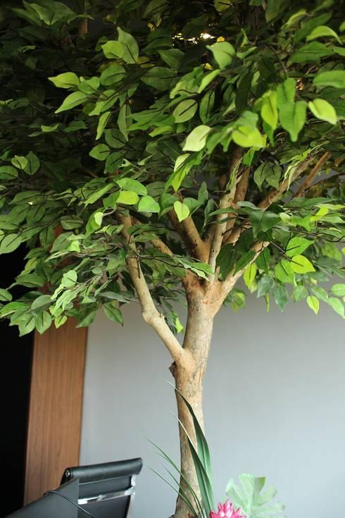 The tree:   by  good space  plus interiror- architect co.,ltd