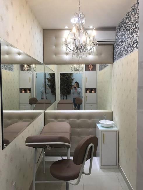 Armario Branco De Cozinha ~ Sala de estética Micropigmentaç u00e3o por Rafaela Carina