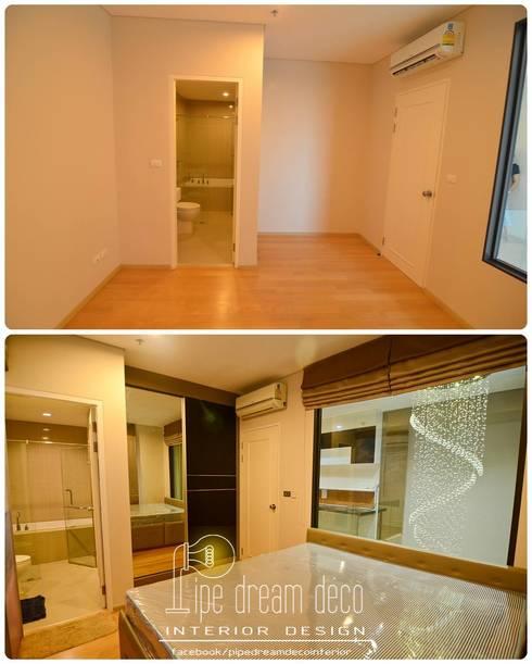 Interior construction Project – Villa Asoke Condominium:   by pipedreamdeco