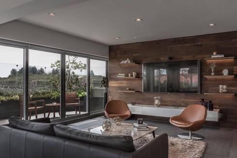ESTANCIA : Salas de estilo moderno por hpernett