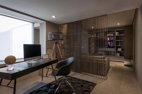 ESTUDIO : Estudios y oficinas de estilo moderno por hpernett