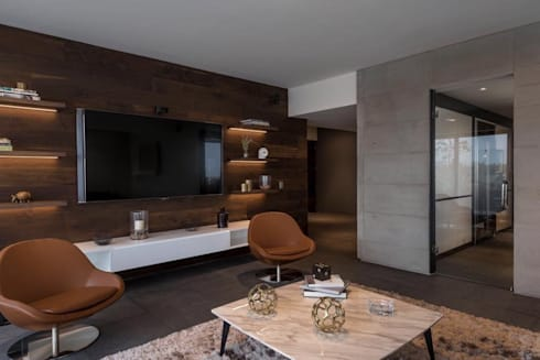 ESTANCIA: Salas de estilo moderno por hpernett