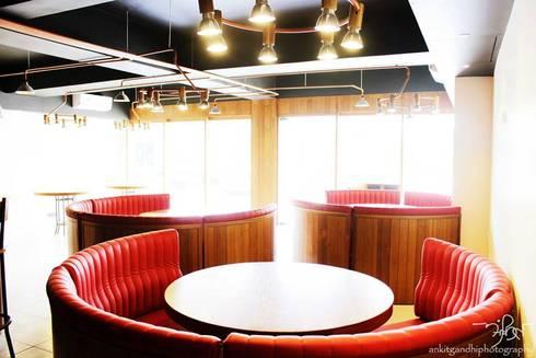 Seating Arrangement:  Hotels by Mavrick Design Studio - ruchishah.0205@gmail.com