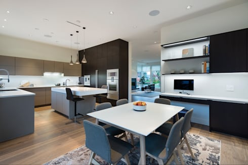 Dining Room: modern Dining room by Alice D'Andrea Design