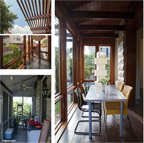 City Park Residence + Carport, New Orleans: modern Living room by studioWTA