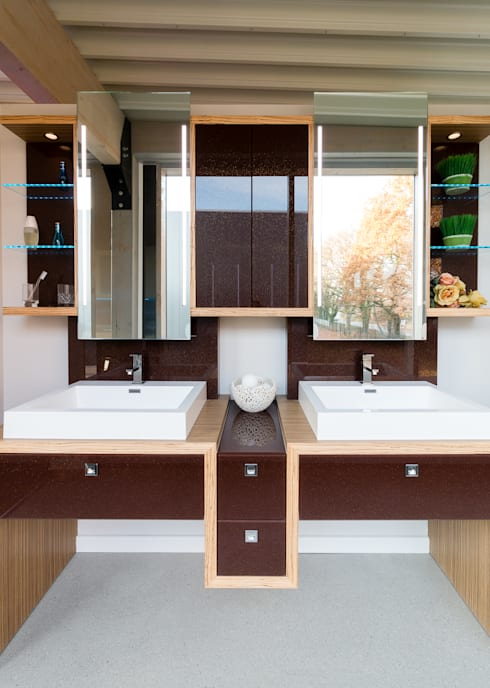 : modern Bathroom by Pamela Kilcoyne - Homify