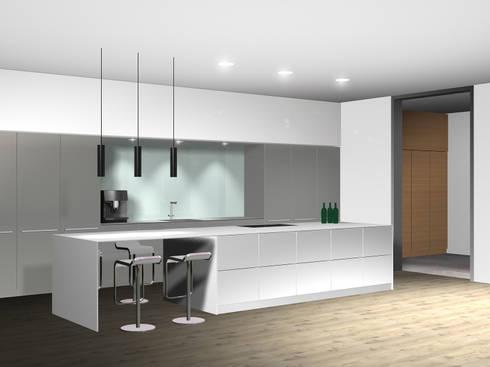 Küche by sw retail interior design homify