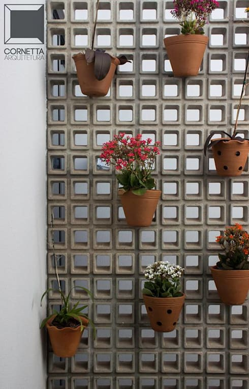 Cobogós: Jardins  por Cornetta Arquitetura