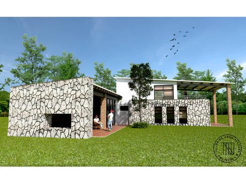 CD-01: Casas de estilo moderno por Taro Arquitectos