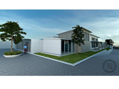 Casa ISG: Casas de estilo moderno por Taro Arquitectos