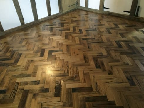 Finished Parquet Floor:   by Johannesburg Laminate Flooring