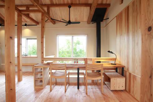 暮らしを楽しむラフデザイン: 株式会社 建築工房零が手掛けたです。