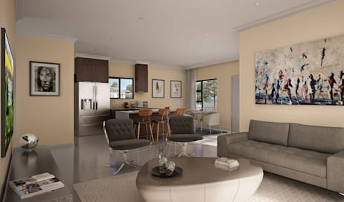 Residential Estate:  Commercial Spaces by Visualize 3D