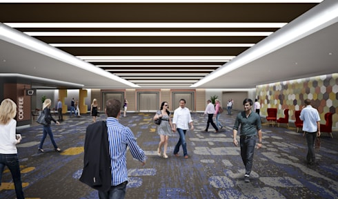 Sun City :  Commercial Spaces by Visualize 3D