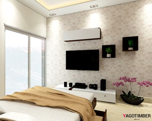 Bedroom Design Ideas - 1: modern Bedroom by Yagotimber.com