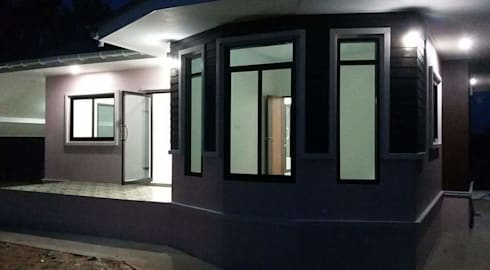 บ้านคุณศิรินันท์ เพียรชนะ:   by หจก.สรรค์สร้าง ดีไซน์ แอนด์ คอนสตรัคชั่น