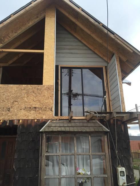 CONSTRUCCIÓN 2: Casas de estilo rural por GerSS Arquitectos