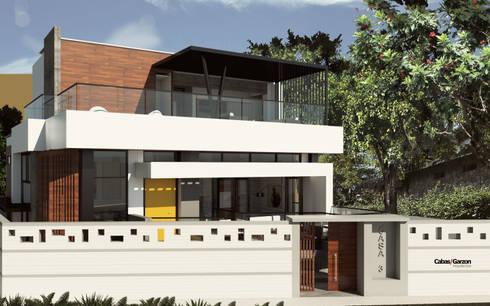 CASA IROTAMA: Casas de estilo moderno por Cabas/Garzon Arquitectos