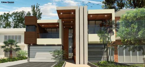 REMODELACION CASA D P - 08-11-2016: Casas de estilo moderno por Cabas/Garzon Arquitectos