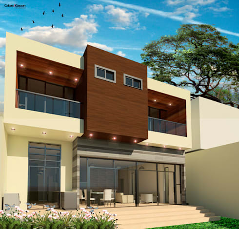 REMODELACION CASA D P – 08-11-2016: Casas de estilo moderno por Cabas/Garzon Arquitectos