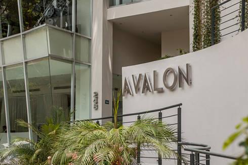 AVALON: Casas de estilo moderno por MORADA CUATRO