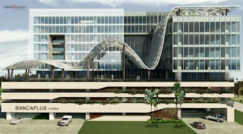 TECNOGLASS:  de estilo  por Cabas/Garzon Arquitectos
