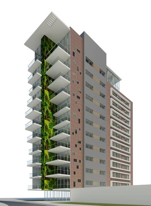 TORRE BOJANINI  25-07-2014:  de estilo  por Cabas/Garzon Arquitectos