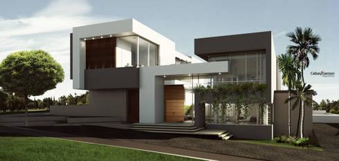 VIVIENDA CAUJARAL - M G:  de estilo  por Cabas/Garzon Arquitectos