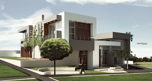 VIVIENDA CAUJARAL – M G:  de estilo  por Cabas/Garzon Arquitectos