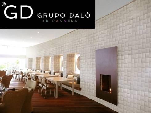 paredes y pisos de estilo moderno por grupo dal paneles decorativos en 3d - Paneles Decorativos 3d