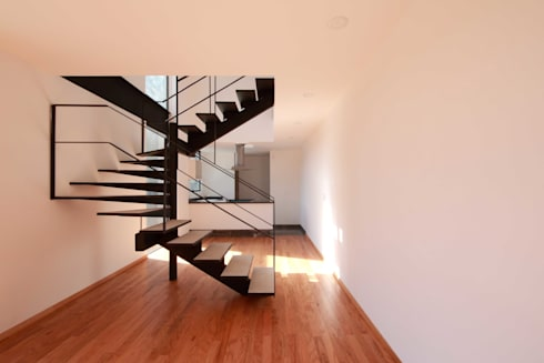 Departamento Interior: Salas de estilo moderno por Wolff Arquitectura