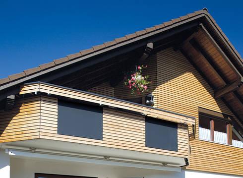 moderne fassadenprofile raute und ellipse innovatives schindelsystem blackforestlook von braun. Black Bedroom Furniture Sets. Home Design Ideas