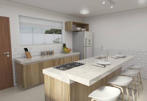 minimalistic Kitchen by Filipe Castro Arquitetura   Design