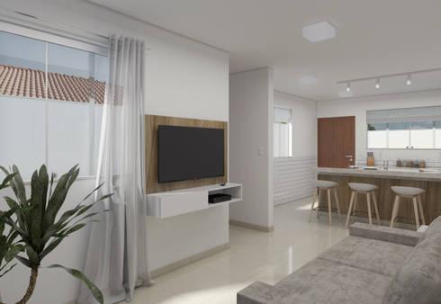 minimalistic Living room by Filipe Castro Arquitetura   Design