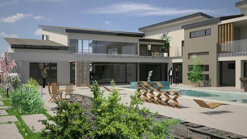 House Sydney: minimalistic Houses by STENA ARCHITECTS