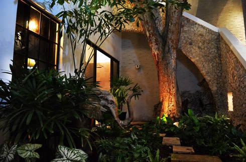 Casa 56: Terrazas de estilo  por Workshop, diseño y construcción