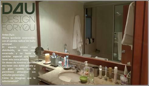 Baño antes:  de estilo  por Design For You SAS