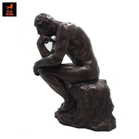 รูปปั้นทองเหลืองนักคิดรีโปรดักซศิลปินโอกุสต์ รอแด็ง:   by 1STEP DECOR