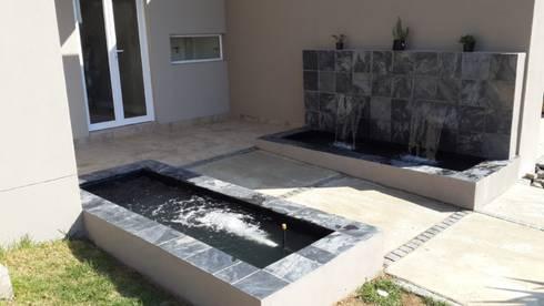 New Double Pond – Cedar Creek Estate: modern Garden by Isivande fish ponds