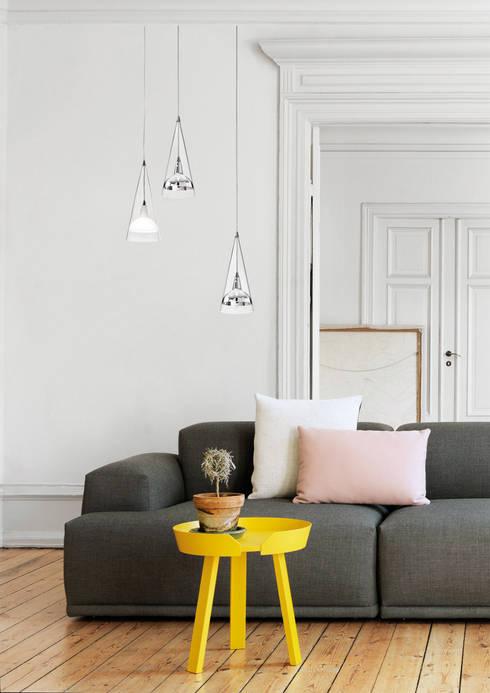 modern Living room by Rossini Illuminazione