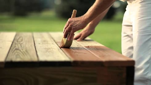 Wood Staining:   by Painters Johannesburg