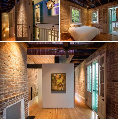 Marigny Residence, New Orleans:  Walls by studioWTA