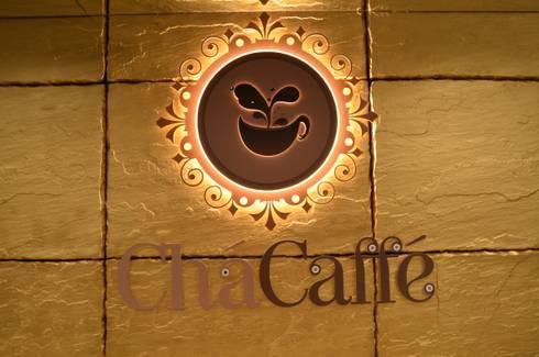 Chá Caffé – Felgueiras: Espaços de restauração  por Traço M - Arquitectura