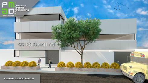 Propuesta Final.: Casas de estilo moderno por PM ARQUITECTURA Y DISEÑO, S.A. DE C.V.