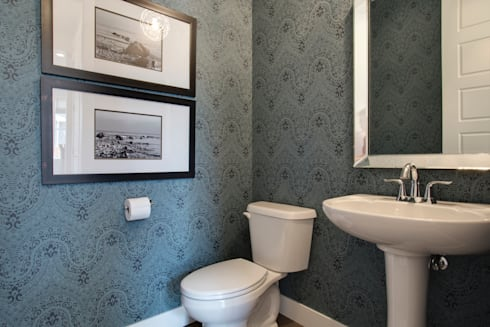 427 Canals: modern Bathroom by Sonata Design