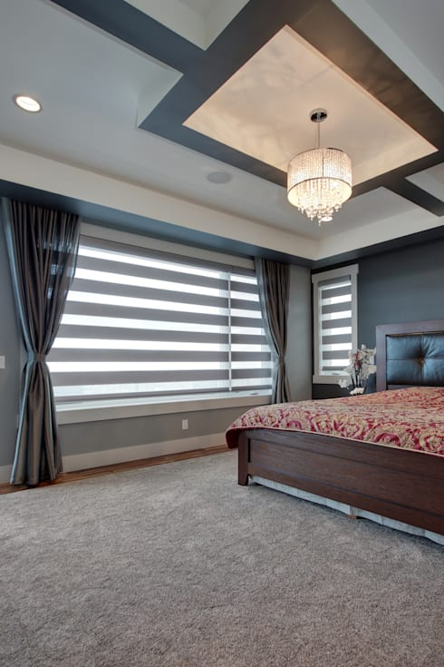 Private Residence: modern Bedroom by Sonata Design