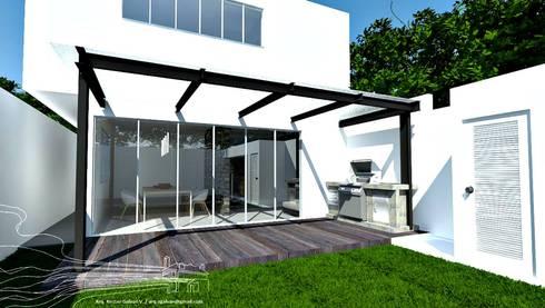 CASA RJ:  de estilo  por Arq. Nestor Galvan