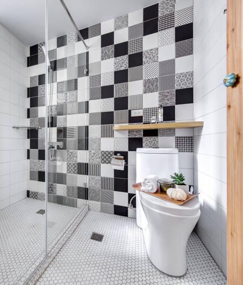 二手屋的小清新旅程:  浴室 by 磨設計