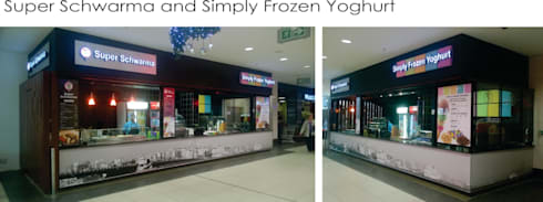 Retail and Hospitality:  Shopping Centres by HEID Interior Design