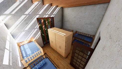 Regio Hostal / Habitación Compartida:  de estilo  por Grupo HAD
